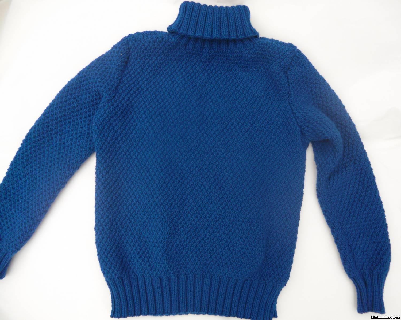 Пуловер Синий Доставка
