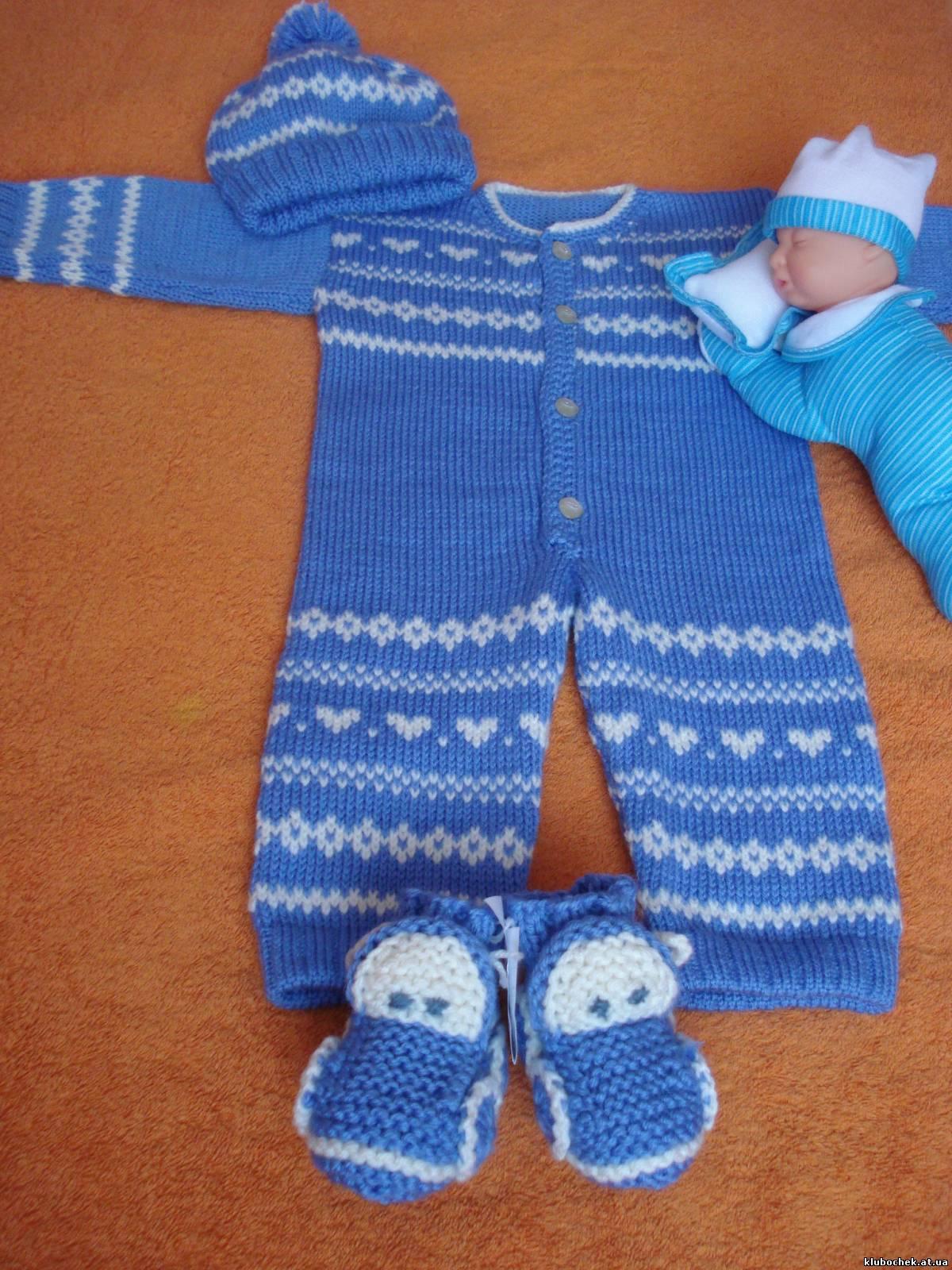 Вязание крючком для мальчика от о до 6 месяцев9